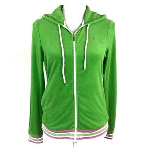 Lilly Pulitzer Green Pink Hoodie Jacket